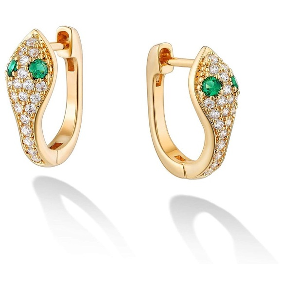 Sabrina Designs Diamond snake earrings